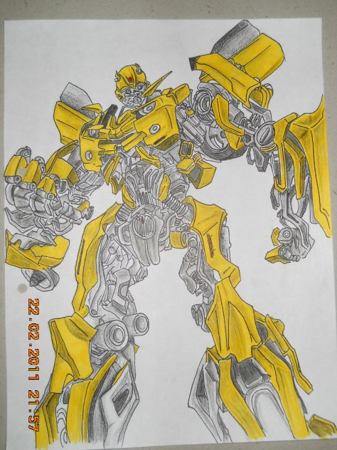 """Bumblebee Sketch"" by Swapnil"