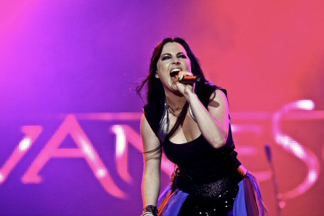 evanescence rock in rio