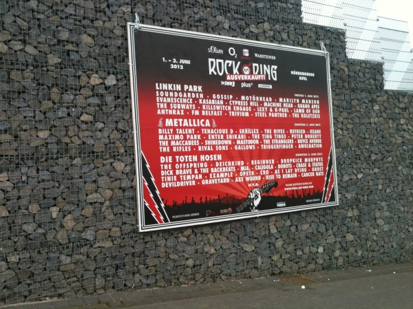 Fan Review: Rock am Ring By BlackChester | Melissa's Webspace