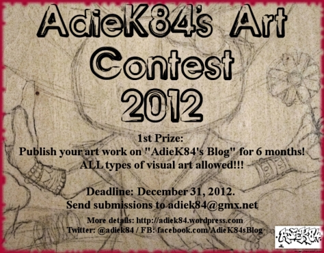 Share this flyer to support this contest! Thanks :-)